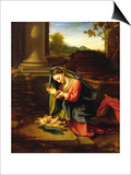 Our Lady Worshipping the Child  c1518-20