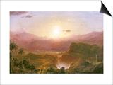 The Andes of Ecuador  c1876