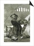 """Hobgoblins  Plate 49 of """"Los Caprichos """" 1799"""