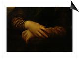 Mona Lisa  Detail of Her Hands  circa 1503-06