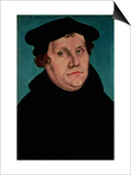 Portrait of Martin Luther  1529
