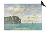 The Cliffs at Etretat  1890