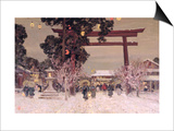 View of a Shinto Shrine  c1889