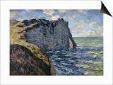 The Cliff of Aval  Etretat  1885