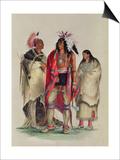 North American Indians  circa 1832