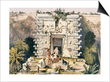 Gateway of the Great Teocallis  from 'Views of Ancient Monuments in Central America  Chiapas and