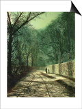 Tree Shadows on the Park Wall  Roundhay  Leeds  1872