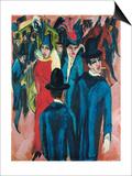 Berlin Street Scene  1913-14
