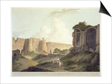 The Western Entrance of Shere Shah's Fort  Delhi