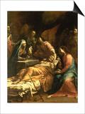 The Death of St Joseph  C1712