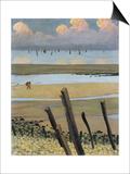 Low Tide at Villerville  1922