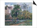 Orchard at Maubisson  Pontoise  1876