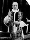One of the First Pictures of Pope Pius XII after His Coronation  Rome  1939