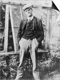 James Joyce in the Garden of His Friend Constantine Curran in Dublin  1904