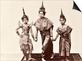Classical Thai Dancers  C1900