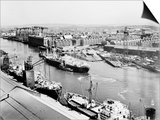 Glasgow's River  Looking South-East from the Roof of Meadowside Granary  1995