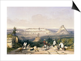 General View of Uxmal  Taken from the Archway of Las Monjas  from 'Views of Ancient Monuments in…