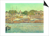 Gloucester Harbour  1917