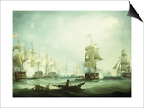 The Battle of Trafalgar  1805