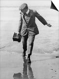 Thomas E Grant in Biarritz  1910