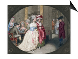 The Promenade at Carlisle House  1781