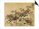 Crustaceans  Edo Period C1825