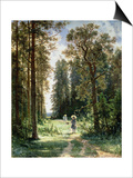 The Path Through the Woods  1880