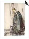 Helena  Illustration from 'Midsummer Nights Dream' by William Shakespeare  1908 (Colour Litho)