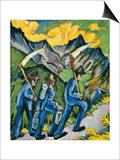 Alpleben  Triptych; Alpleben  Triptychon  1918