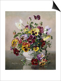 A Still Life with Pansies
