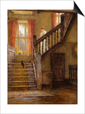 The Staircase  Whittington Court  Gloucestershire