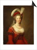 Portrait of Marie Antoinette  Queen of France