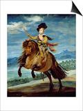 Prince Balthasar Carlos on Horseback  circa 1635-36