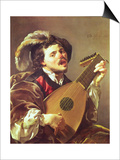The Lute Player  1624