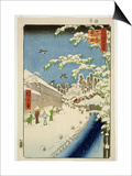 Th Riches 1913 Yabu Street  Atago  Print No112 from the Series '100 Views of Famous Places in