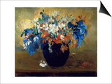 A Vase of Flowers  1896