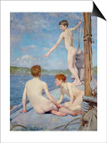 The Bathers  1889