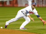 Sep 26  2014: Cleveland  OH - Tampa Bay Rays v Cleveland Indians - Mike Aviles