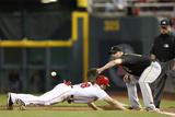Sep 26  2014: Cincinnati  OH - Pittsburgh Pirates v Cincinnati Reds - Chris Heisey  Gaby Sanchez