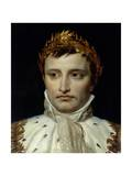 Portrait of Emperor Napoleon I Bonapart by Jacques-Louis David