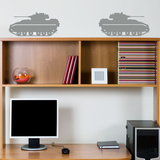 Bradley Fighter Tanks Grey