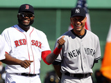Sep 28  2014: Boston  MA - New York Yankees v Boston Red Sox - Derek Jeter  David Ortiz