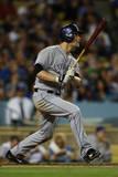 Sep 26  2014: Los Angeles - Colorado Rockies v Los Angeles Dodgers - Justin Morneau