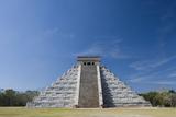 Mexico  Yucatan Peninsula  Yucatan  Chichen Itza  Kukulkan Pyramid