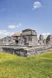 Mexico  Quintana Roo  Yucatan  Cancun  Old Ruins