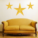 Nautical Stars Yellow