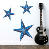 Nautical Stars Blue