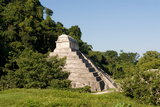 Pyramid in Palenque Mexico