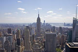 Landmark Empire State Building and Tall Buildings