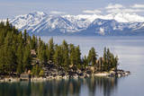 The Famous Property of the Thunderbird Lodge is Framed by Lake Tahoe and the Snow-Capped Peaks of T